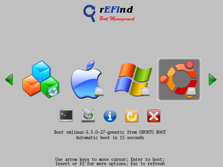 The rEFInd Boot Manager